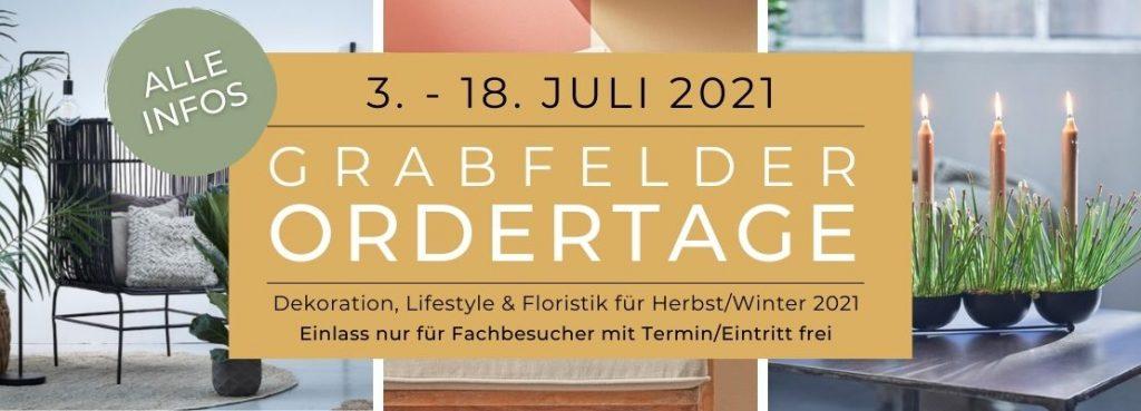Grabfelder Ordertage 3. -18.7.2021
